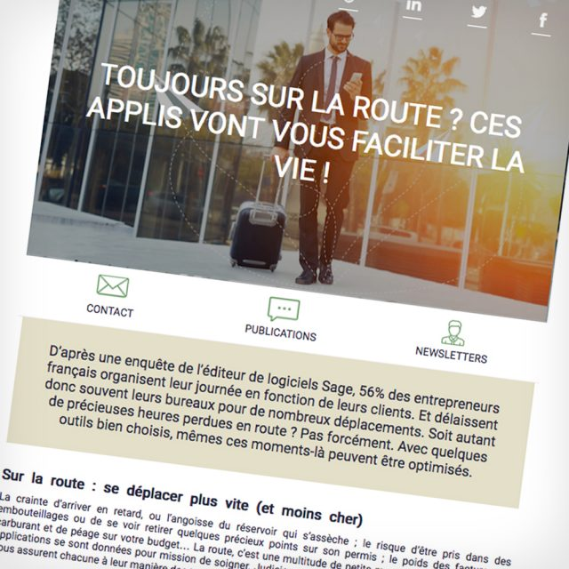 Rédaction de newsletters MyPassPro