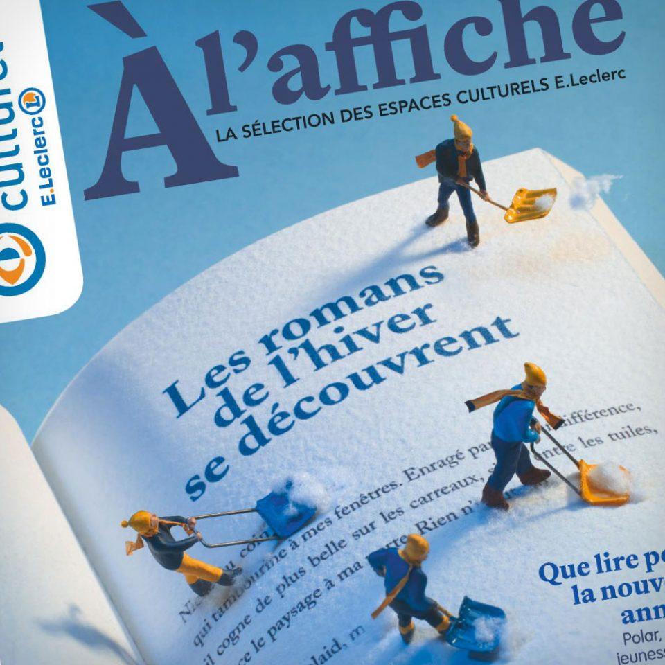 Rédaction couverture print E.Leclerc