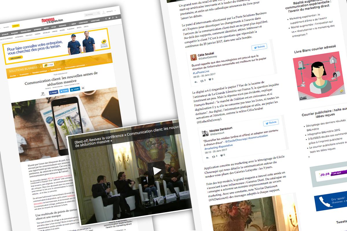 Contenus Web et vidéos La Poste