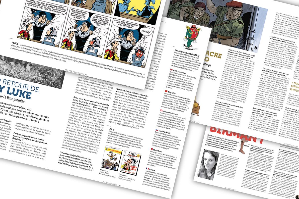 Interview d'auteurs pour Dargaud